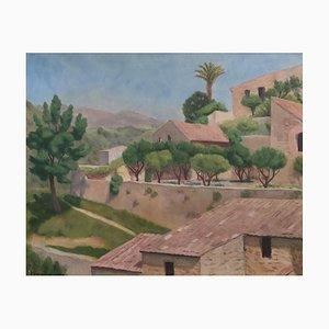 Emile Lejeune, Paysage, Cagnes, 1924