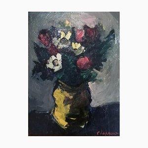 Geneviève Chapront, Nature Morte aux Fleurs, 1953