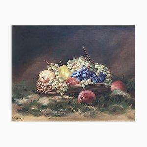 K. Haeuser, Nature Morte aux Pommes, Poires et Raisin, 1947