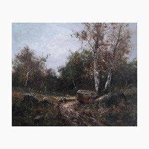 Christian Lian, Les Lavandières au Bord de la Rivière, 1912