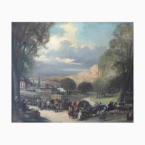 Albert Mantelet, Le Retour du Marché, 1902