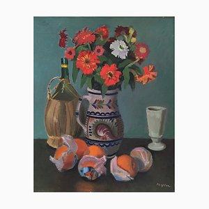 Henry Meylan, Nature Morte aux Oranges, 1972