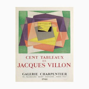 Expo 61, Galerie Charpentier by Jacques Villon