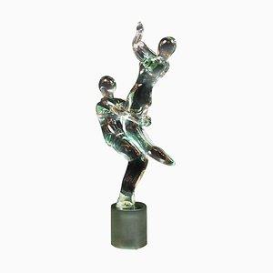 Glass Dancers Sculpture by Renato Anatra