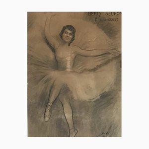 Léon Laurent Galand, Berty Seuron 1ère danseuse, 1935