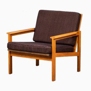 Capella Easy Chair in Teak by Illum Wikkelsø, Denmark, 1960s