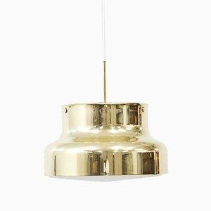 Brass Bumling Pendant Lamp by Ateljé Lyktan, Sweden
