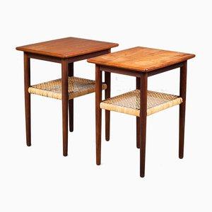 Side Tables in Teak, Denmark, 1960s, Set of 2