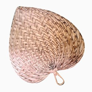 Large Palm Leaf Fan, 1980s