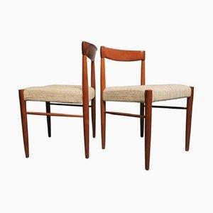 Chaises d'Appoint Mid-Century par HW Klein, Danemark, 1960s, Set de 2