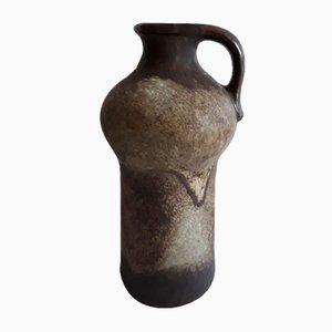 Vintage Modell 0874 Keramik im Fat Lava Stil in Braun & Beige von Carstens, 1970er