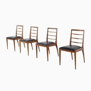 Teak Esszimmerstühle von McIntosh, 1960er, Set of 4