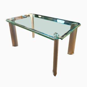 Table Vintage en Verre