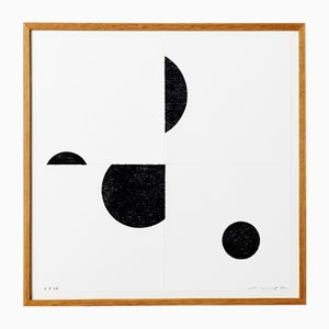 Imprimé Wood Works par Masayuki Koitabashi pour Motarasu