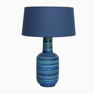 Vintage Ceramic Table Lamp by Bitossi. 1960s