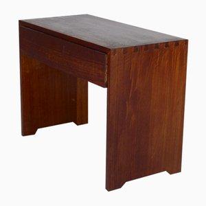 Hölzerner Nachttisch, 1960er