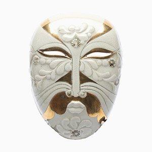 Vintage Steingut Dämon Wandmaske von Lisa Larson für Gustavsberg