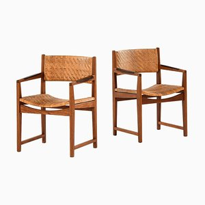 Modell 350 Armlehnstuhl von Peter Hvidt & Orla Mølgaard-Nielsen für Søborg Furniture