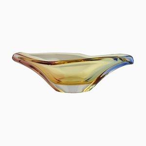 Mid-Century Glasschale von Josef Hospodka, 1960er