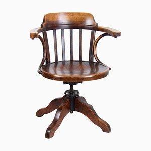 Chaise de Bureau Pivotante B663-1 de Thonet, 1920s