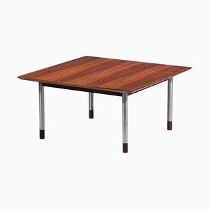 Italian Square Coffee Table in the Style of Finn Juhl