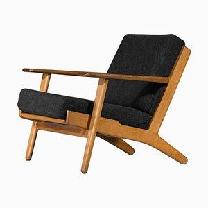 Scandinavian Model GE 290 Lounge Chair by Hans Wegner for Getama, 1953