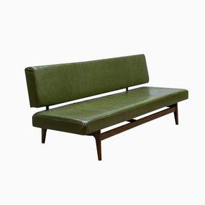 Sofá cama de Grete Jalk para Poul Jeppesen
