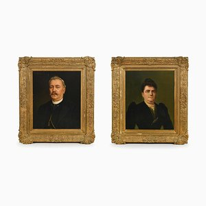 Portraits de Family Picon, Francesc Parera, Set de 2