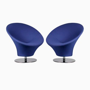 Chairs in the style of Artifort, Netherlands, Set of 2