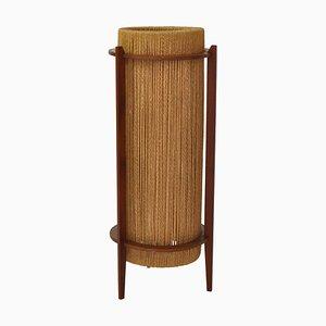 Scandinavian Teak Floor Lamp by IB Fabiansen for Fog & Morup, 1960s