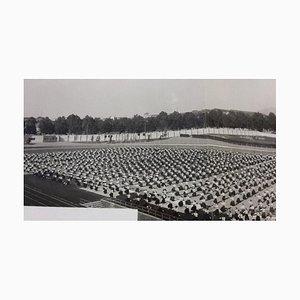 Exercices Sport Inconnu, Féministe, Pendant Le Fascisme, Photographie Vintage N & B, 1934