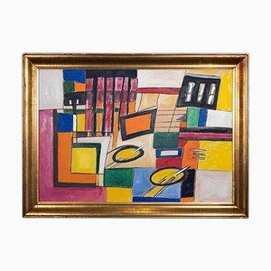Giorgio Lo Fermo, Geometrical Abstraction, Oil on Canvas, 2021