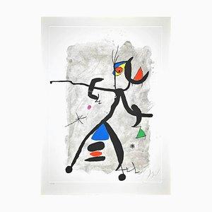 Joan Miró, Por Alberti, por L'Espana, Constellation III, Etching, 1975