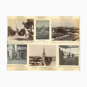 Unknown, Ancient Views of Shanghai, Albumen Prints, 1880er / 90er, 7er Set