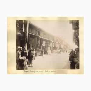 Unknown, Ancient Views of Shanghai, Albumen Print, 1880s/90s
