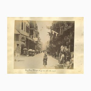 Unknown, Ancient Views of Hong-Kong, Albumen Prints, 1890s, Set of 2
