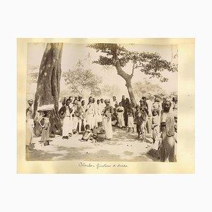 Unknown, Ethnographic Photos From Colombo Sri Lanka, Albumen Prints, 1890s, Set of 3