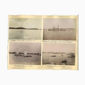 Unknown, Ancient Views of Singapore, Albumen Prints, 1890er, 8er Set