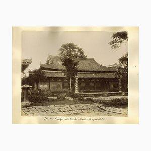Inconnu - Vues Antiques du Temple de la Reine du Ciel à Canton - 1890s