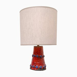 Ceramic Table Lamp by Theresa Bataille, Dour Belgium