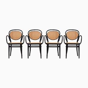 Chaises No. 215 RF par Michael Thonet, 1980, Set de 4