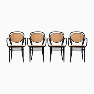 No. 215 RF Chairs by Michael Thonet, 1980, Set of 4