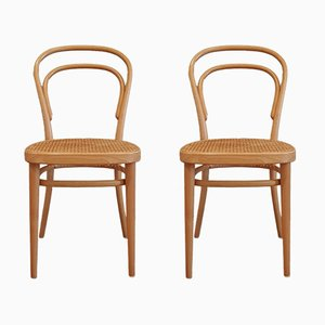 No. 214 Chairs by Michael Thonet for Thonet, 2000, Set of 4