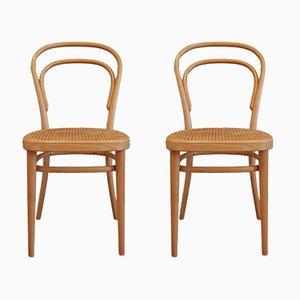 Nr. 214 Stühle von Michael Thonet für Thonet, 2000, 4er Set