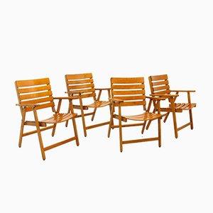 Chaises Pliantes de Herlag, 1970s, Set de 4