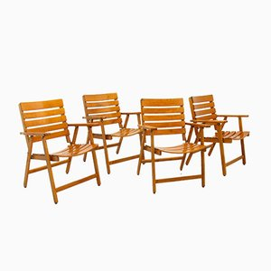 Folding Chairs from Herlag, 1970s, Set of 4