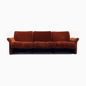 3-Sitzer Sofa von Vico Magistretti für C & B Italia, 3er Set