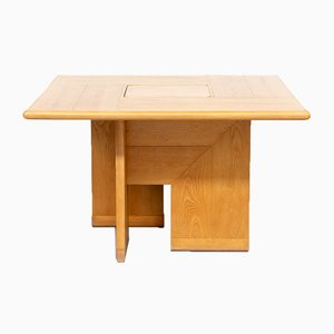 Square Dining Table by Silvio Coppola for Fratelli Montina, 1970s