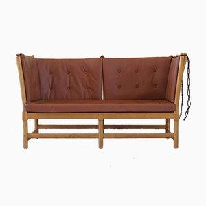 Mid-Century Danish Slat Sofa in Beech by Børge Mogensen for Fritz Hansen, 1963