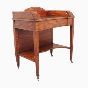 Lady's Writing Table in Satinwood, 19th Century